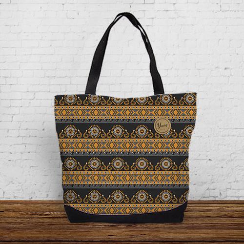 """[原源不絕-排灣族] 城市托特包 """"Paiwan"""" Urban tote bag"""