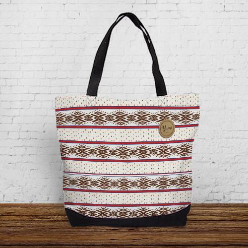 """[原源不絕-太魯閣族] 城市托特包 """"Taroko"""" Urban tote bag"""