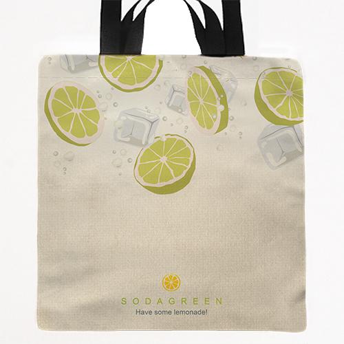 [Soda green] 兩用提袋 Hand/shoulder bag