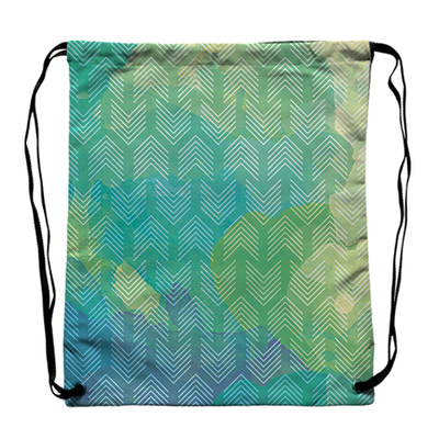 [Green arrow]一般版束口後背包 General drawstring backpack