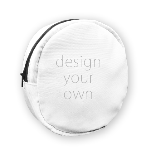 客製 印花 圓形 隨身包 Round portable bag