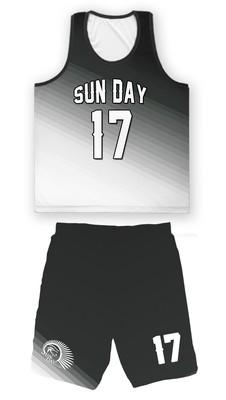 〔Sun Day〕單斜漸層設計整套球衣