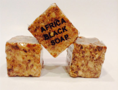 Pure African Black Soap (W)
