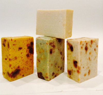 Black African Soap with Shea Butter (W)