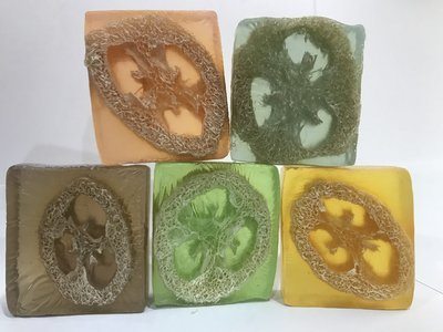 Glycerin Soap with Loofah (W) *SPECIAL*