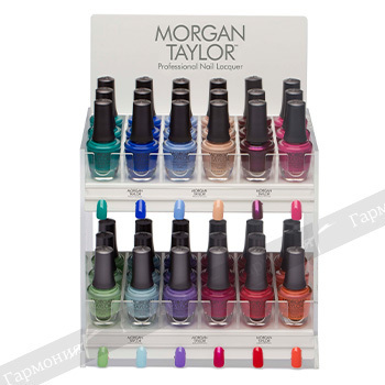 Morgan Taylor Island Treasures Display 36 pc. 51524