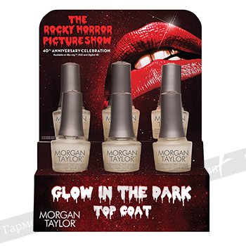 Glow In The Dark Top Coat Dispaly 6 pc. 51286