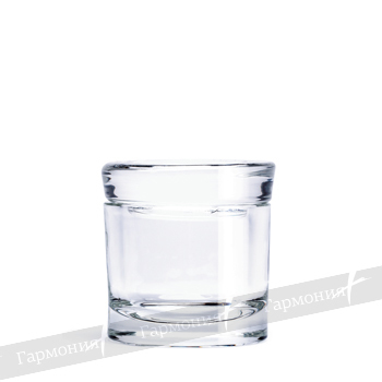 HARMONY GLASS DAPPING DISH 01395