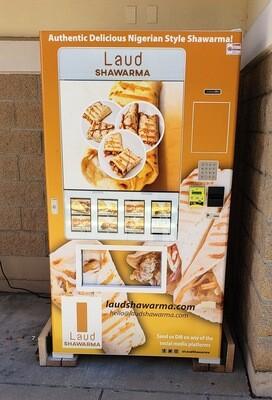 FREE!!! HEALTHY FOOD VENDING MACHINE