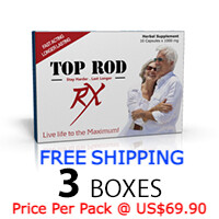 TOP ROD RX - Sex And Prostate Supplement