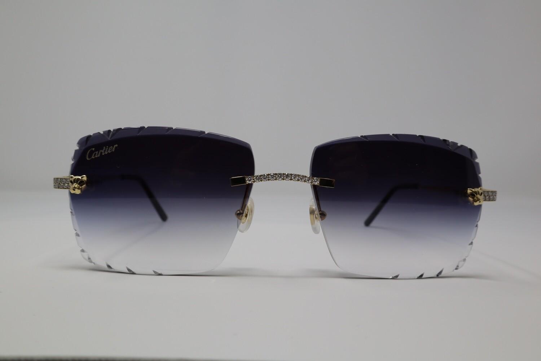 Cartier Gold Panther Face VVS/VS