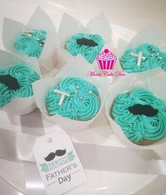 Father's Day Cupcake Box