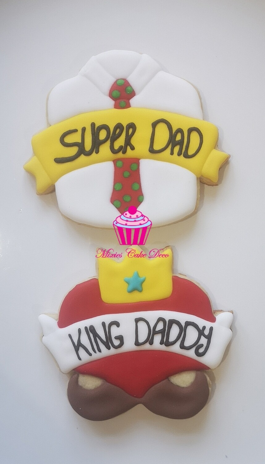 Daddy Cookie Set