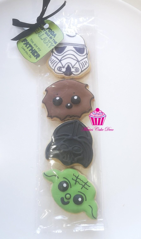 Yoda Best Dad Cookies