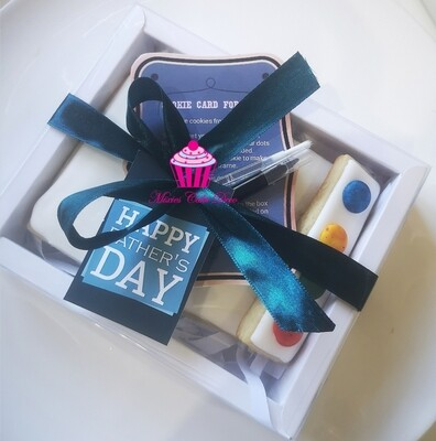 Make A Cookie Card For Dad