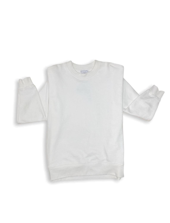 Hoddie Oversize blanco