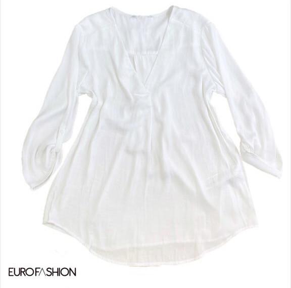 Blusa seda básica