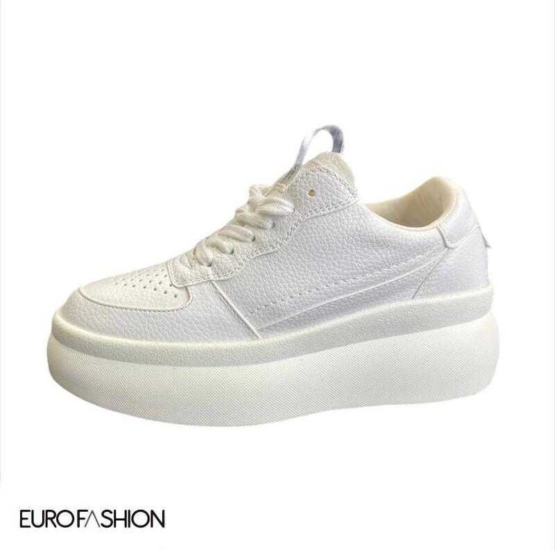 Sneakers plataforma alta