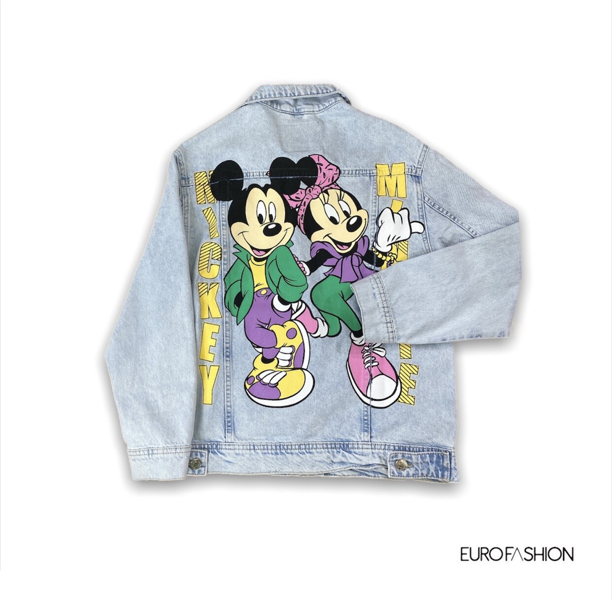 Chaqueta denim Mickey