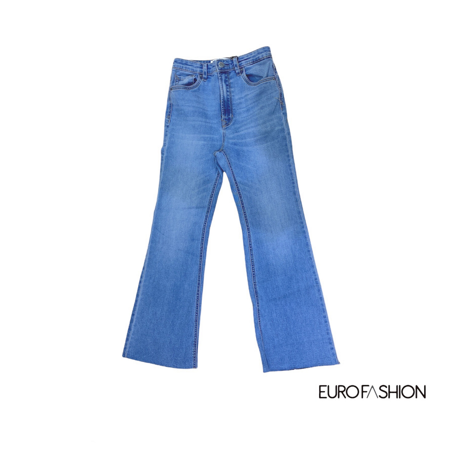 Jean cropped flare