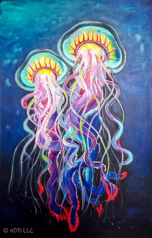 Artor Die - Jellyfish | 150 x 90