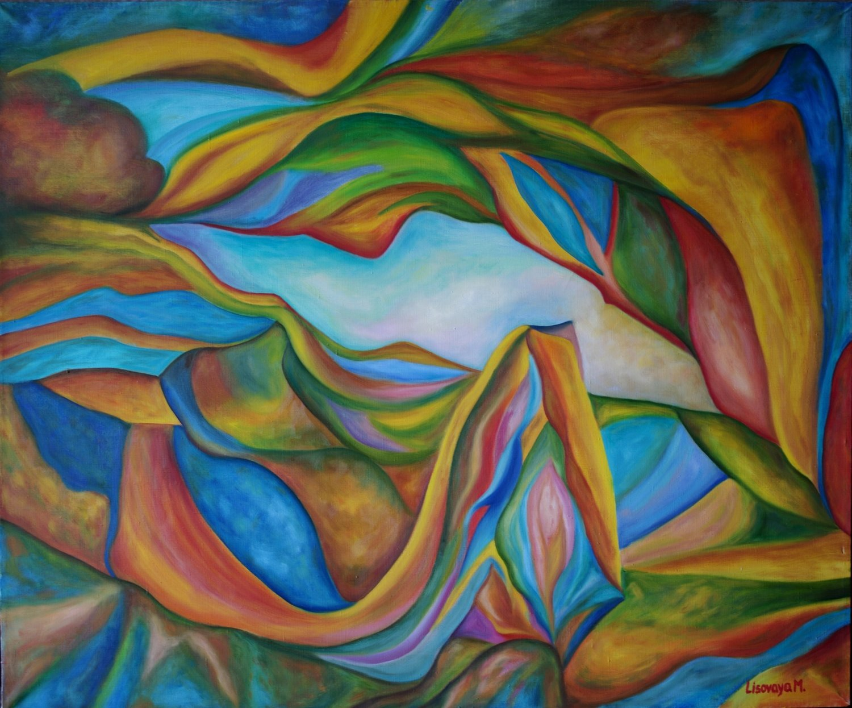 Marina Lisovaya - Beginning | 120 x 100