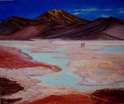 Marina Lisovaya - Atacama | 60 x 50
