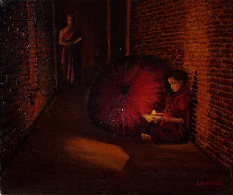 Marina Lisovaya - Four Elements. Fire | 60 x 50