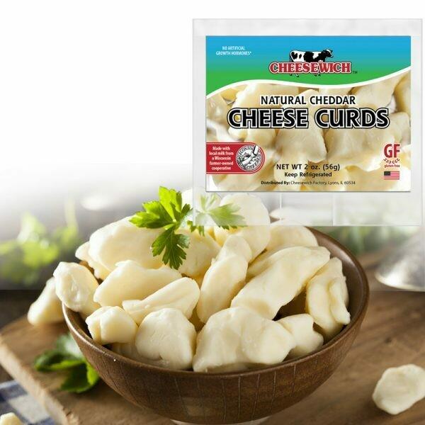 Cheesewich Cheese Curds (24pk)