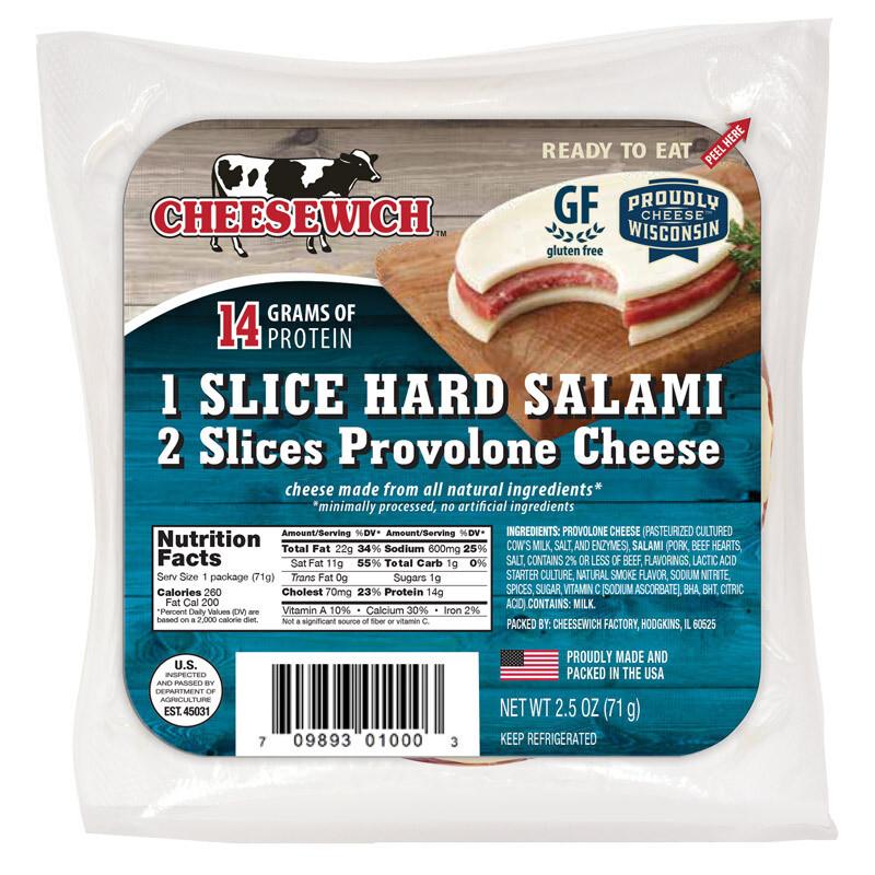 Provolone & Hard Salami (16PK)