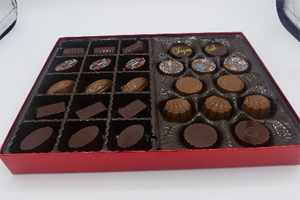 Boxed of 27--mixed pralines
