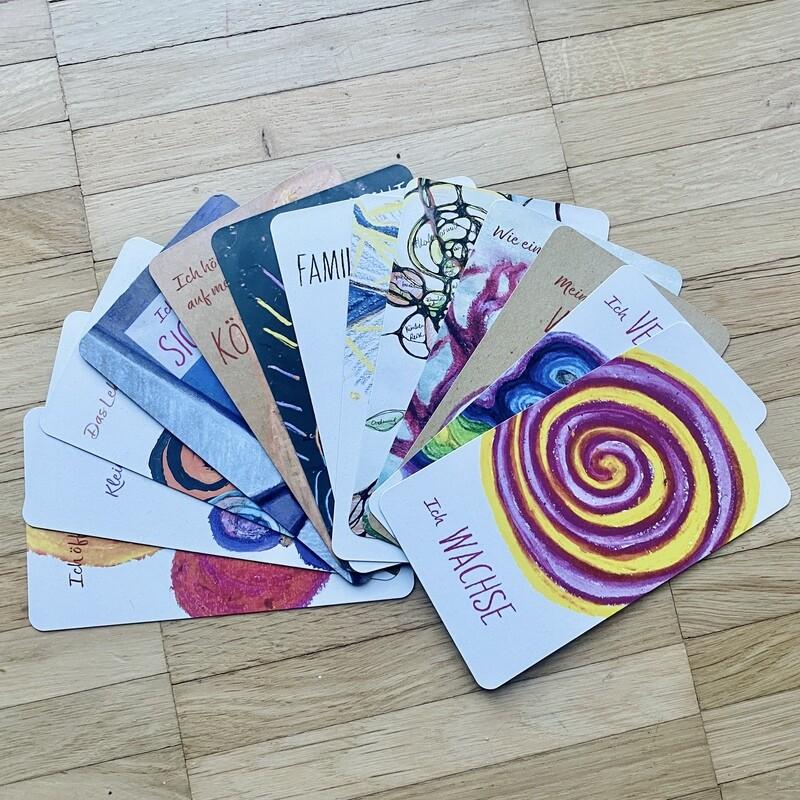 Inspirationskarten Set #kartenfürmich