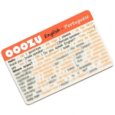 OOOZU Portuguese Language Card