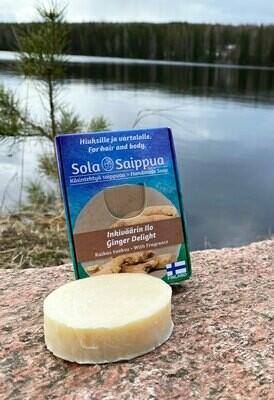 Inkiväärin ilo - ekologinen saippua 60g