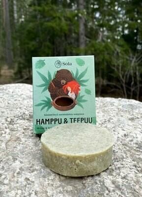Hamppu & Teepuu - ekologinen saippua 60g