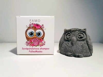 PulleaMassu syväpuhdistava shampoo - FAMO