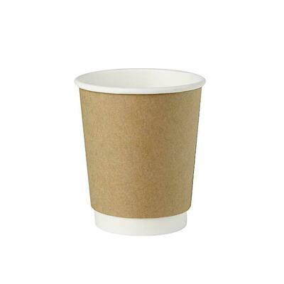 Kahvikuppi 200ml kompostoituva, 10kpl