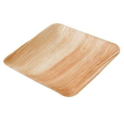 Palmunlehtilautanen 23x23cm - 5 tai 10kpl paketti