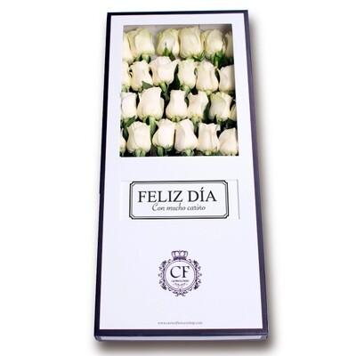 Celeste - Luxury White Roses