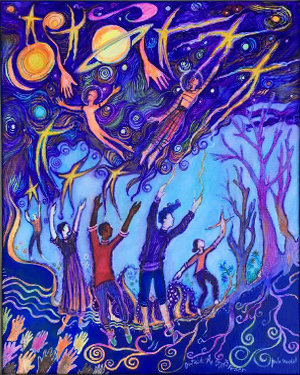 """Outside The Stars Reach ~ limited edition giclée print 8""""x10"""""""