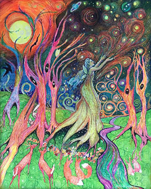 """Protector of the Forest  ~ limited edition giclée print 8""""x10"""""""