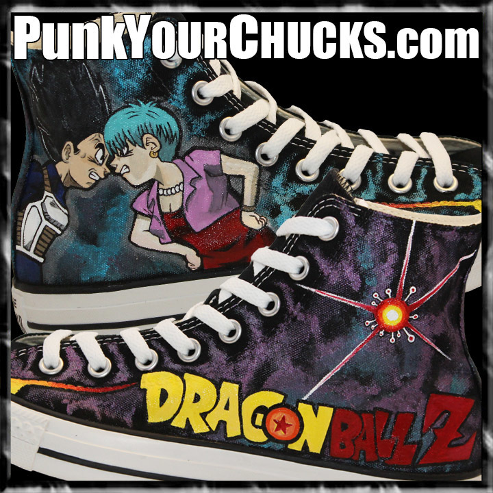Dragonball Z Custom Converse Sneakers