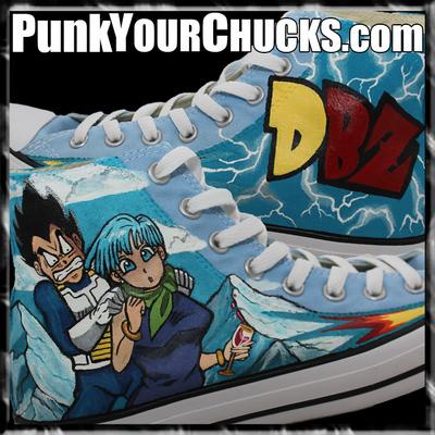 Dragonball Z Custom Converse Sneakers