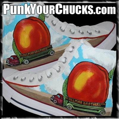 Allman Brothers Band Custom Converse Sneakers