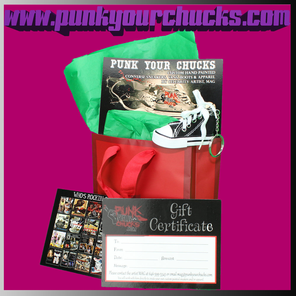 Gift Certificate Holiday Bag