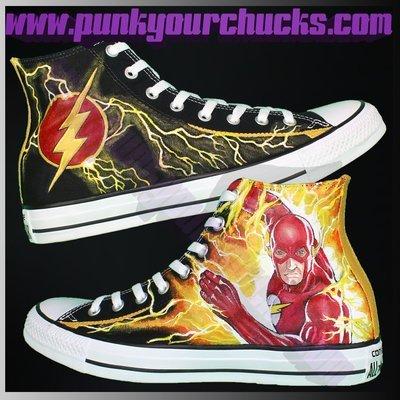 FLASH Custom Converse Sneakers