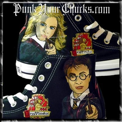 Harry Potter Custom Converse Sneakers