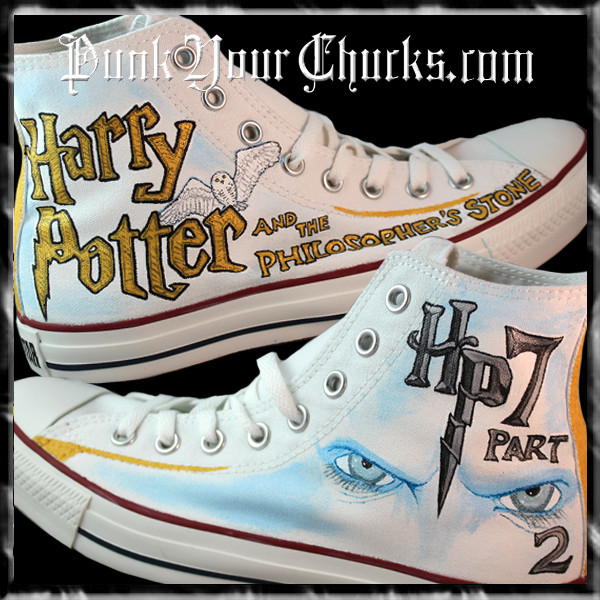 Harry Potter 2 Custom Converse Sneakers