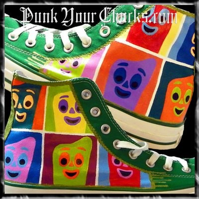 Gumby Custom Converse Sneakers