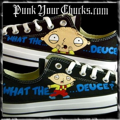 Family Guy Low Top Custom Converse Sneakers